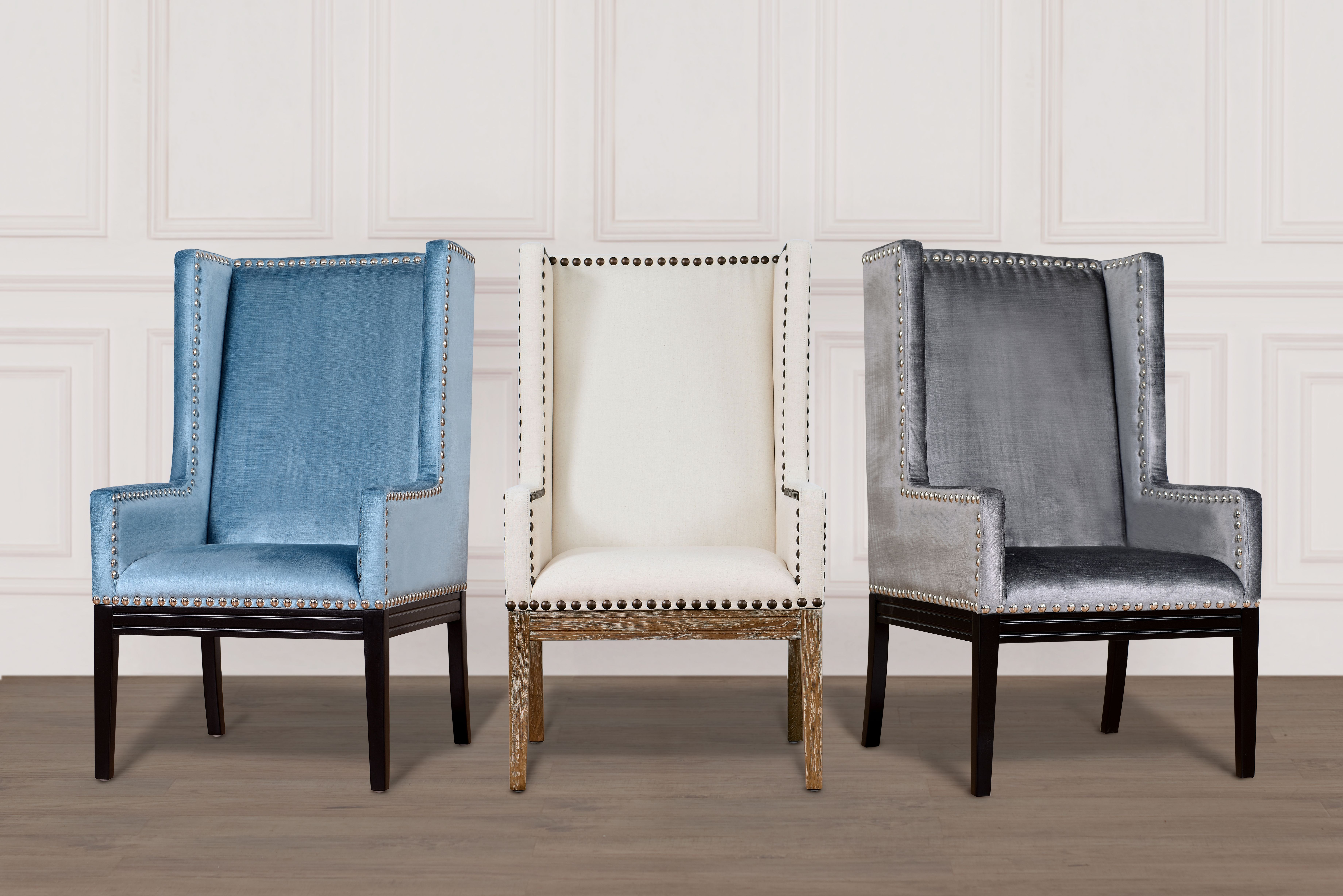 image of Tribeca Beige Linen Chair with sku:TOV-TRI-BL