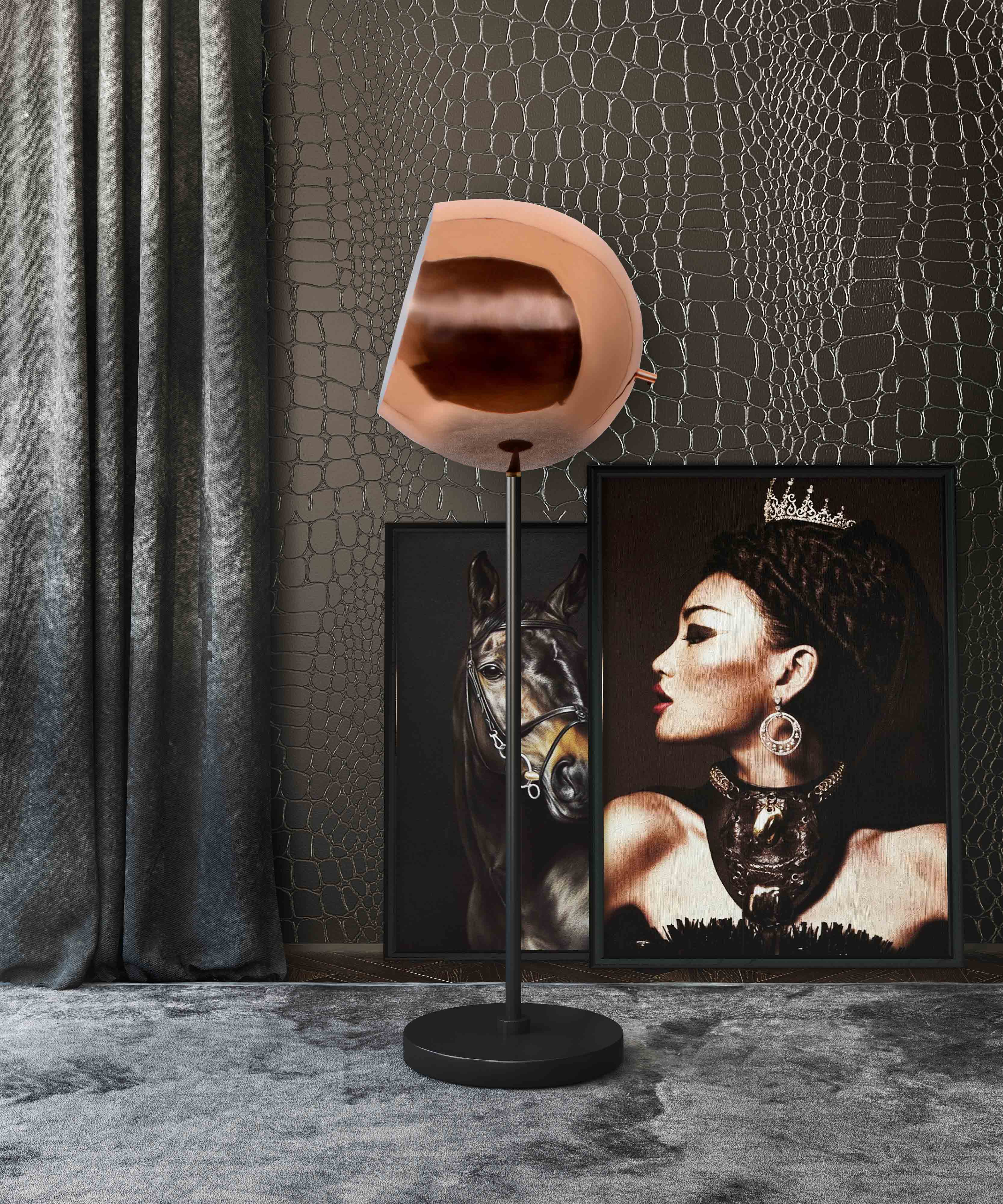 image of Cannes Floor Lamp with sku:TOV-G18154